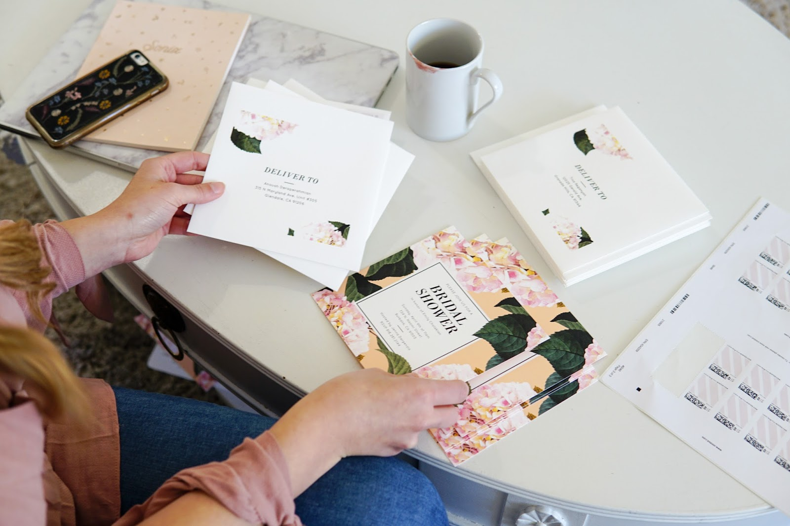 below are some suggestions to help you customize every detail of your minted invite