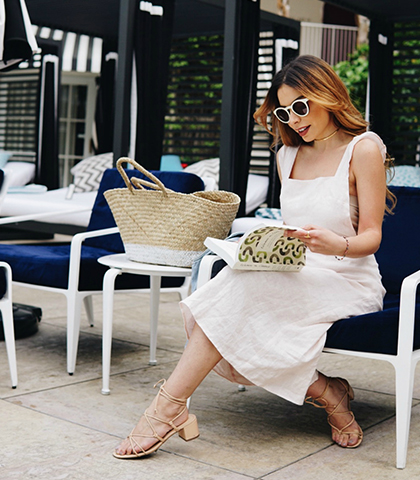 Emily Vartanian A STAYCATION AT THE BEVERLY HILTON WITH AMERICAN EXPRESS B