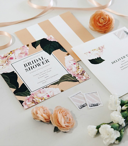 Emily Vartanian MY BRIDAL SHOWER & BACHELORETTE PARTY INVITATIONS WITH MINTED B