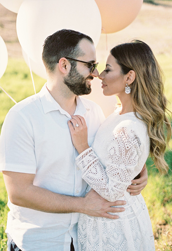 #TwoEmsWed Engagement Session with BHLDN