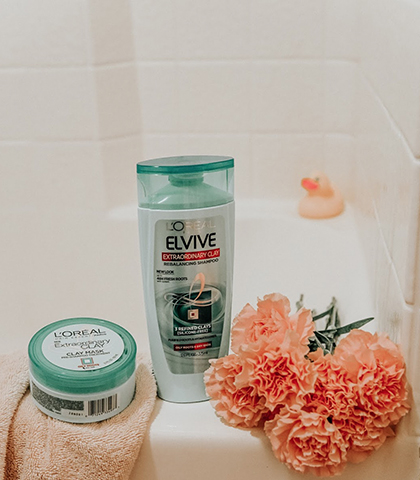 Emily Vartanian HAIR CARE ROUTINE- OILY ROOTS, DRY ENDS! B