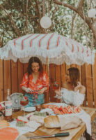 French Boho Summer Soiree with Lillet